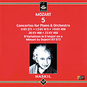 Haskil Plays Mozart: 5 Piano Concertos by Clara Haskil