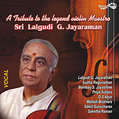 A Tribute to the Legend Violin Maestro Sri Lalgudi G Jayaraman by Various Artists