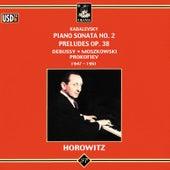 Kabalevsky: Piano Sonata No. 2 - Preludes Op. 38 by Vladimir Horowitz