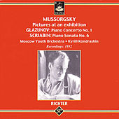 Mussorgsky: Pictures at en Exhibition - Glazunov - Scriabin by Sviatoslav Richter