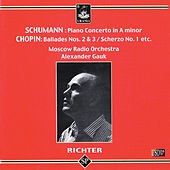 Sviatoslav Richter Plays Schumann & Chopin by Sviatoslav Richter