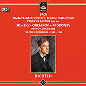 Bach: Italian Concerto - English Suite - Fantasia & Fugue by Sviatoslav Richter
