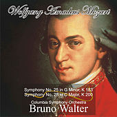 Mozart: Symphony No. 25 in G Minor, K 183 - Symphony No. 28 in C Major, K 200 by Bruno Walter