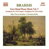 Four Handed Piano Music Vol. 7 by Johannes Brahms