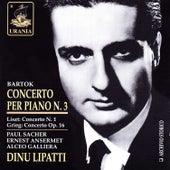 Bartok: Piano Concerto No. 3 by Dinu Lipatti