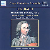 Sonatas and Partitas, Vol. 2 by Johann Sebastian Bach