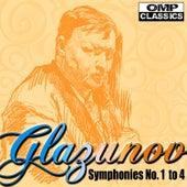 Glazunov: Symphonies No. 1 to 4 by Vladimir Fedoseyev