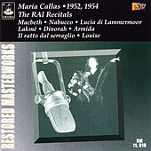 Maria Callas: The RAI Recitals 1952 - 1954 von Maria Callas