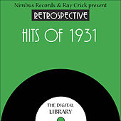 A Retrospective Hits of 1931 by Various Artists