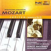 Mozart: Symphony No. 41- Jupiter / Falla / Stravinsky by Various Artists