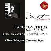 Mozart: Piano Concertos Nos. 12, 13, 26 & Works for Solo Piano by Oliver Schnyder