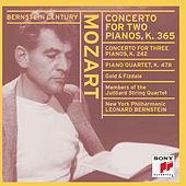Bernstein Plays and Conducts Mozart by Leonard Bernstein