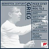 Grieg: Peer Gynt Suites & Works by Sibelius by Leonard Bernstein