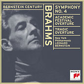 Brahms:  Symphony No. 4; Academic Festival Overture; Tragic Overture by Leonard Bernstein