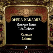Opera Karaoke, Volume 3 [Georges Bizet, Léo Delibes ] by Experts Studio Orchestra