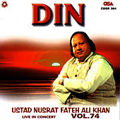 Din Vol. 74 by Nusrat Fateh Ali Khan
