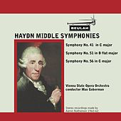 Haydn: Middle Symphonies by Vienna State Opera Orchestra