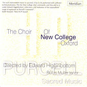 Purcell: Sacred Music by The Choir Of New College Oxford