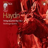 Haydn: String Quartets, Op. 1 & 2 by Buchberger Quartet