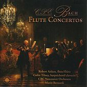 C.P.E. Bach: Flute Concertos and Sonatas by Robert Aitken