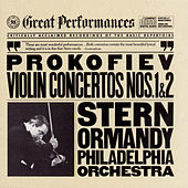 Prokofiev:  Concertos No. 1 & 2 for Violin and Orchestra by Eugene Ormandy; Isaac Stern; The Philadelphia Orchestra