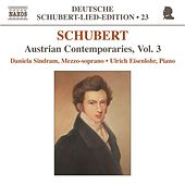 SCHUBERT: Lied Edition 23 - Austrian Contemporaries, Vol. 3 by Daniela Sindram