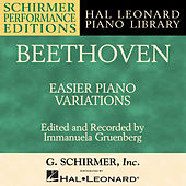 Beethoven: Easier Piano Variations by Immanuela Gruenberg