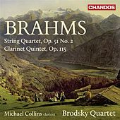 Brahms: String Quartet, Op. 51, No. 2 & Clarinet Quintet, Op. 115 by Various Artists