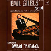 Emil Gilels: Solo Piano Recital. January 9, 1983 (Live) by Emil Gilels
