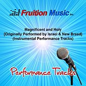 Magnificent and Holy (Originally Performed by Israel & New Breed) [Instrumental Performance Tracks] by Fruition Music Inc.