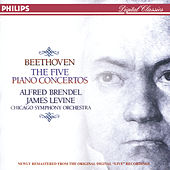Beethoven: The Five Piano Concertos by Alfred Brendel