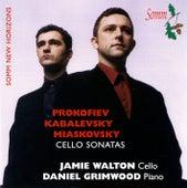 Prokofiev, Kabalevsky, & Myakovsky: Cello Sonatas by Jamie Walton