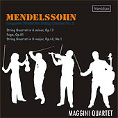 MENDELSSOHN: Complete works for string quartet Vol.2 by Maggini Quartet