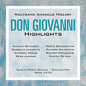Mozart: Don Giovanni Highlights by Various Artists