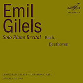 Emil Gilels: Solo Piano Recital. January 18, 1968 by Emil Gilels