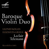 Baroque Violin Duo by Elizaveta Gilels