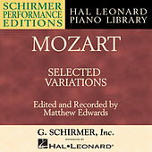Mozart: Selected Variations by Matthew Edwards