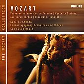 Mozart: Vesperae Solennes De Confessore, K.339 Etc by Various Artists