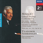 Mozart: Great Piano Concertos by Vladimir Ashkenazy