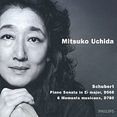 Schubert: Piano Sonata D568; 6 Moments musicaux by Mitsuko Uchida