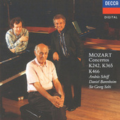 Mozart: Piano Concerto No.20; Concerto for 2 Pianos; Concerto for 3 Pianos by Various Artists