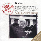 Brahms: Piano Concerto No.2 / Mozart: Piano Concerto No.27 by Wilhelm Backhaus