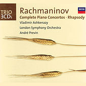 Rachmaninov: Complete Piano Concertos/Rhapsody on a Theme of Paganini by Vladimir Ashkenazy