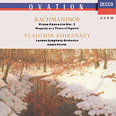 Rachmaninov: Piano Concerto No.2; Rhapsody on a Theme of Paganini by Vladimir Ashkenazy