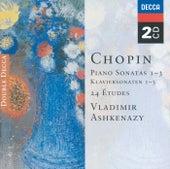 Chopin: Piano Sonatas Nos. 1 - 3; 24 Etudes; Fantaisie in F minor by Vladimir Ashkenazy