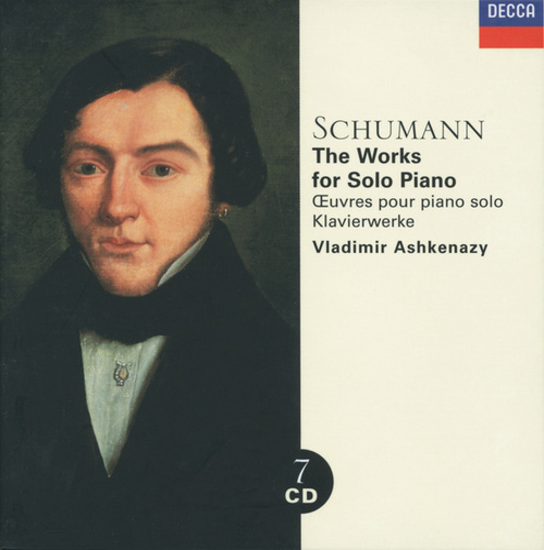 Schumann: Piano Music by Vladimir Ashkenazy