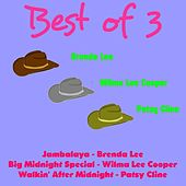 Best of 3: Brenda Lee, Wilma Lee Cooper, Patsy Cline by Various Artists