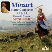 Mozart: Piano Concertos Nos. 22 & 25; Rondo No. 3 by Alfred Brendel