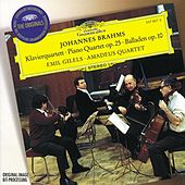 Brahms: Quartet No.1, Op.25 by Various Artists