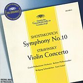 Stravinsky: Violin Concerto in D / Shostakovich: Symphony No.10, Op.93 by Various Artists